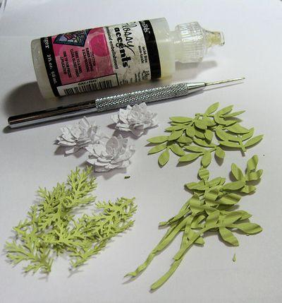 Flower Spray Tutorial 1