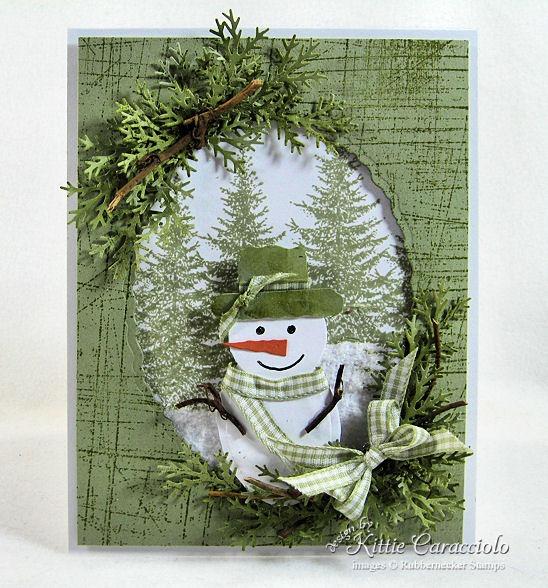 Открытка с объемным снеговиком внутри, тему обиделась