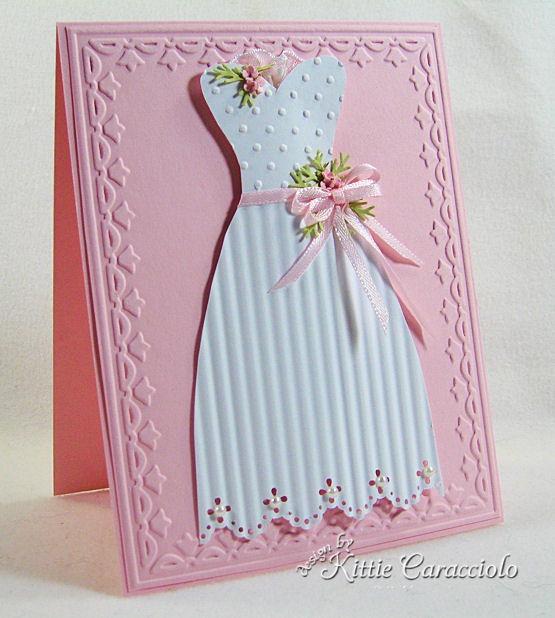 Скрапбукинг платье открытка, спасибо валера