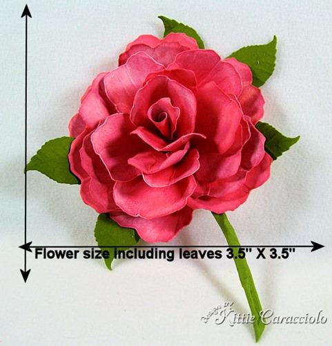 KC Sizzix Rose 2 measurements