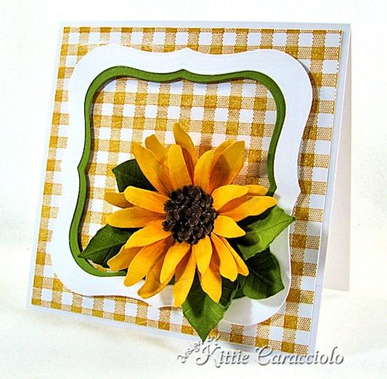 KC Sizzix Flower Sunflower 1 right