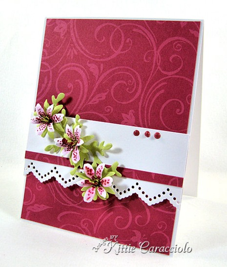 KC Sizzix Flower Mini Lily 1 right