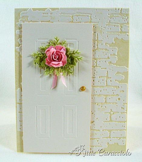 KC Sizzix Door and Wreath Set 1 center