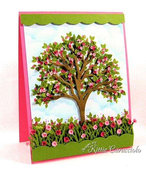 KC Impression Obsession Tree Die 6 left