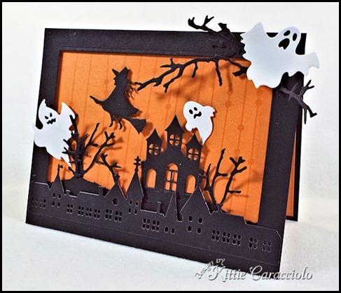 Открытки своими руками на хеллоуин, лучший открытки