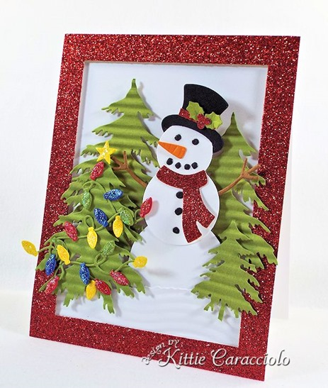 KC Impression Obsession Snowman Set 1 right