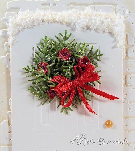 KC Sizzix Door and Wreath 2 close
