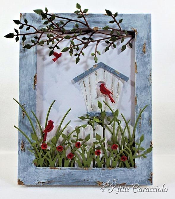 KC Poppy Stamps Carolina Birdhouse 1 center