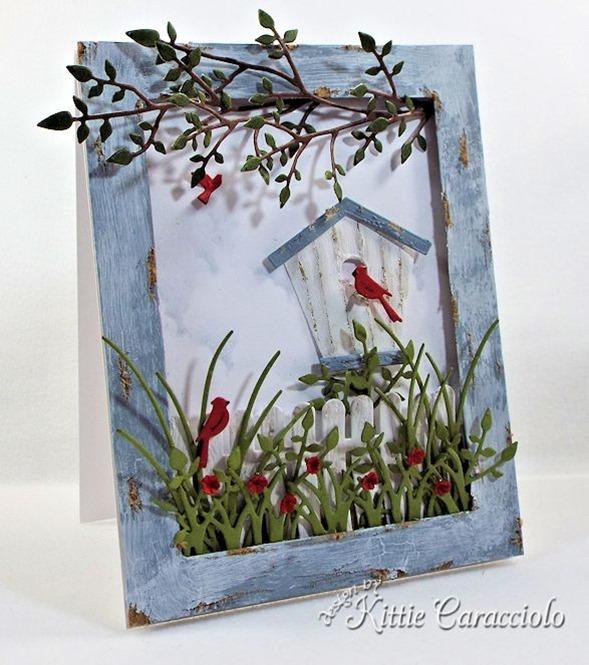 KC Poppy Stamps CArolina Birdhouse 1 left