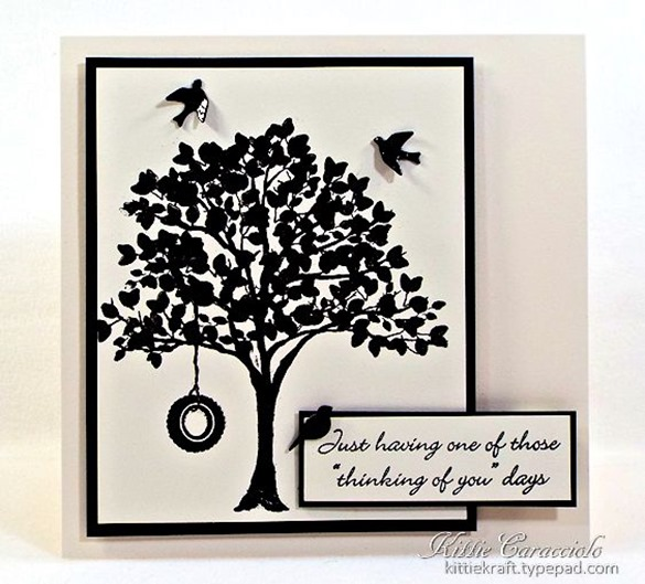 KC Impression Obsession Tree Stamps 7 center