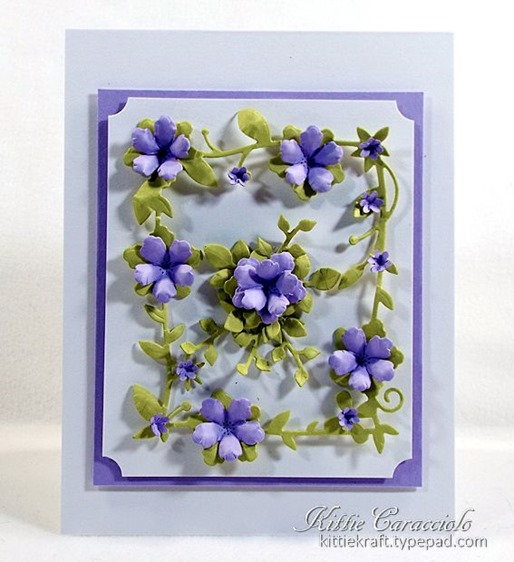 KC Memory Box Botanical Frame 1 center