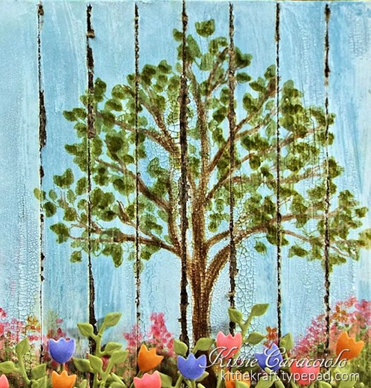 KC Impression Obsession Tree Stamps 6 close