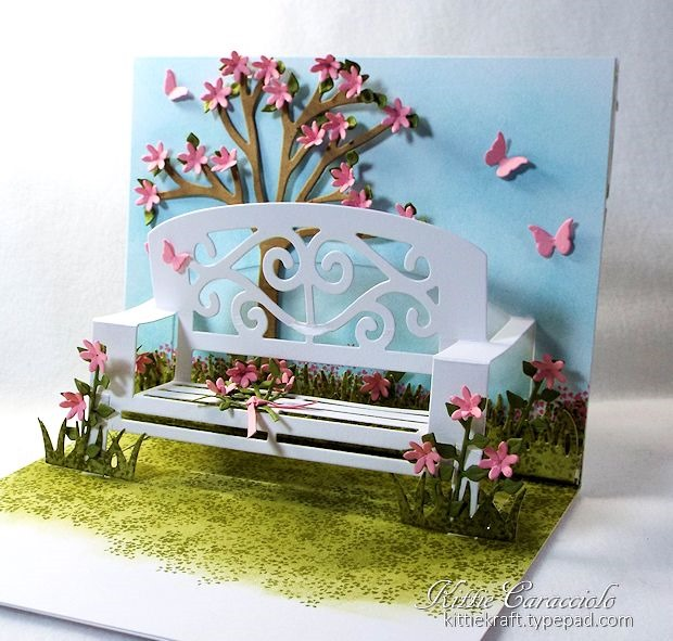 Welcoming fence gate and garden kittie kraft for Garden designs by elizabeth