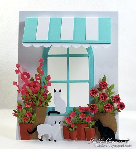 KC Poppy Stamps Small Madison ARched Window 1 center