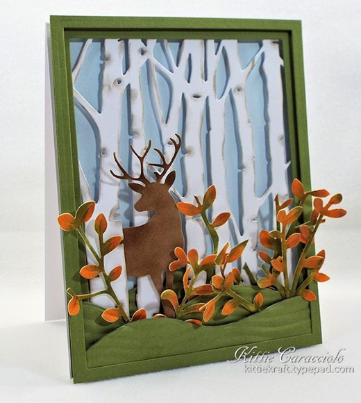 KC Taylored Expressions Birch Tree Cutting Plate 2 left