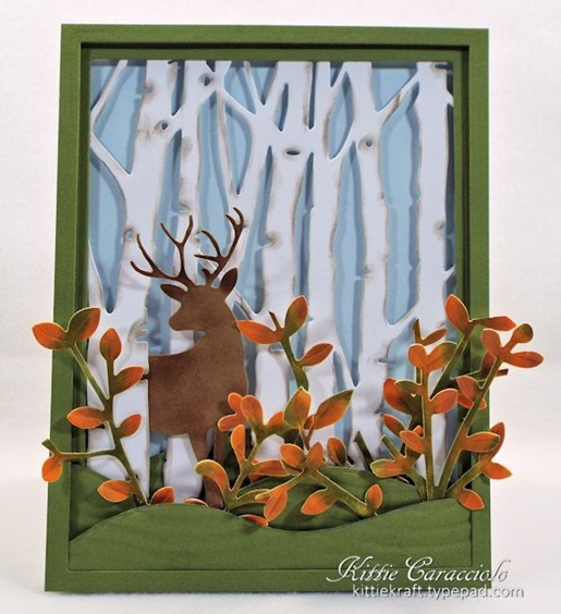 KC Taylored Expressions Birch Tree Cutting Plate 2 center
