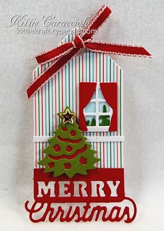 KC Impression Obsession Christmas Tags 2 merry