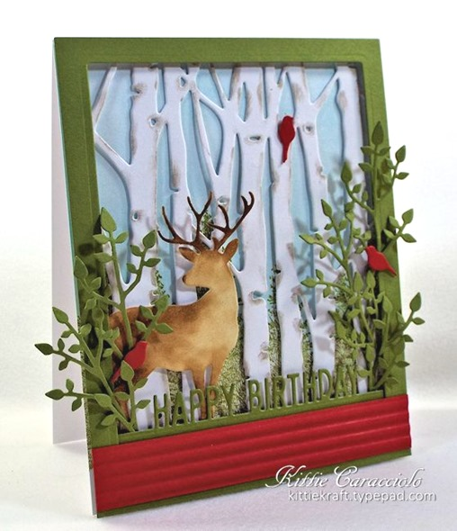 KC Taylored Expressions Birch Tree Cutting Plate 3 left
