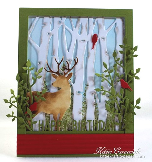 KC Taylored Expressions Birch Tree Cutting Plate 3 center