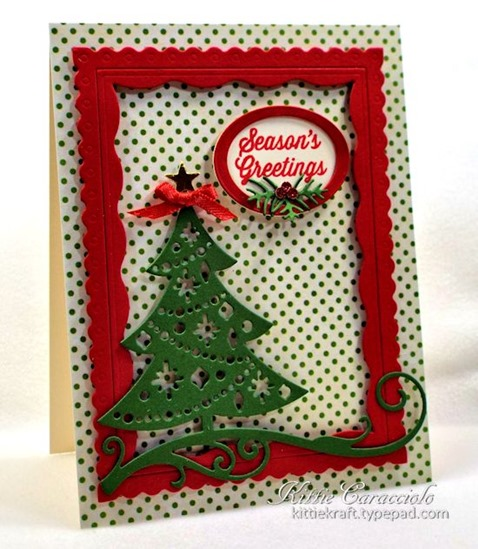 KC Impression Obsession Cutout Christmas Tree 2 left