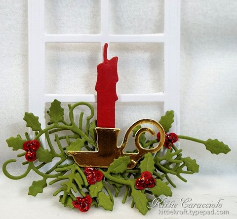 KC Impression Obsession Door Window 3 candle