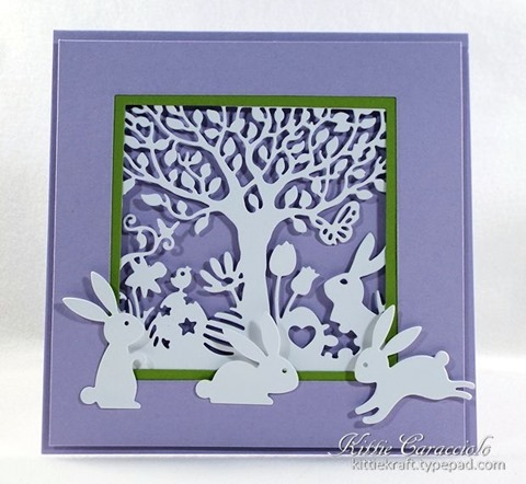 KC Impression Obsession Easter Cutout Square 1 center