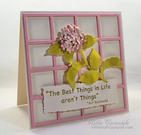 KC Elizabeth Craft Garden Notes Hydrangea 1 left