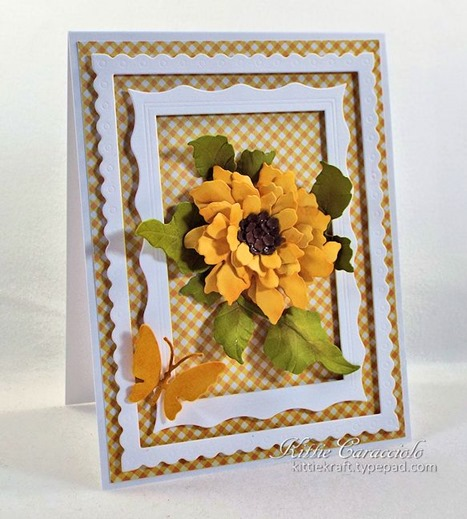 KC Elizabeth Craft Sunflower 1 left