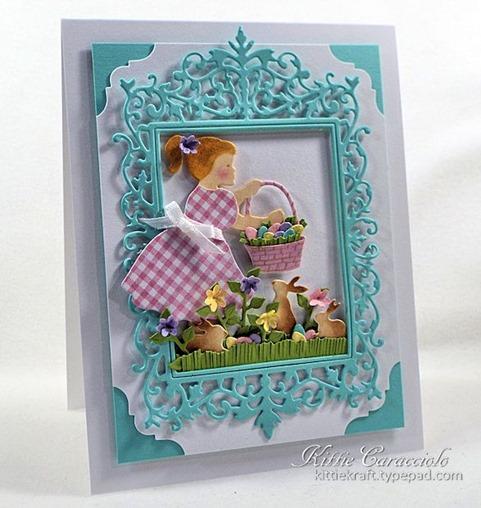 KC Impression Obsession Girl with Easter Basket 1 left
