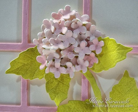 KC Elizabeth Craft Garden Notes Hydrangea 1 close