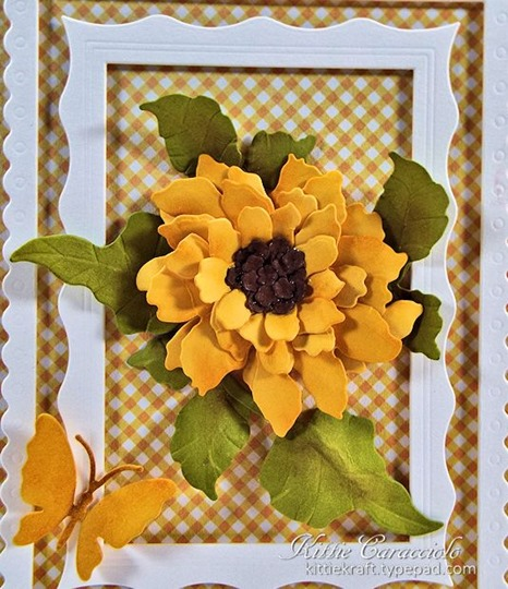 KC Elizabeth Craft Sunflower 1 close