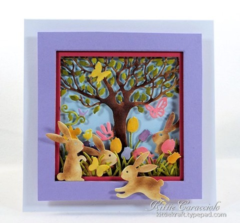KC Impression Obsession Easter Cutout Square 2 centert