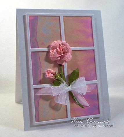 KC Elizabeth Craft Susan Garden Notes Rose 2 1 left