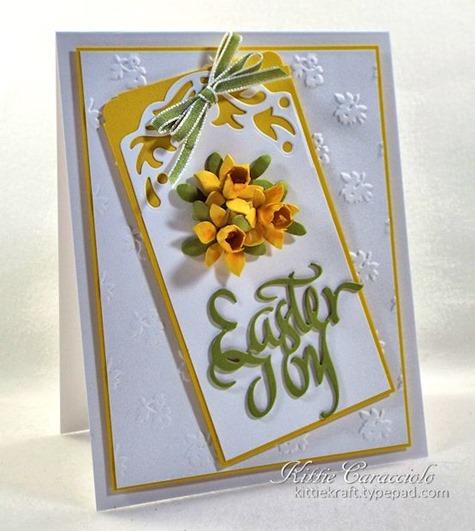 KC Elizabeth Craft Susan Garden Patch 1 3 8 inch and Mini Daffodils 1 left