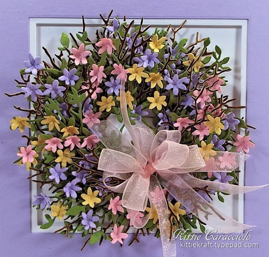 KC Elizabeth Craft Country Scapes Clematis 1 close