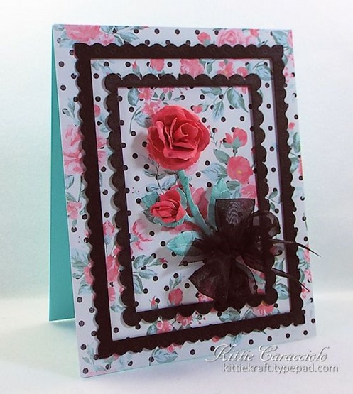 KC Elizabeth Craft Garden Notes Rose 2 left