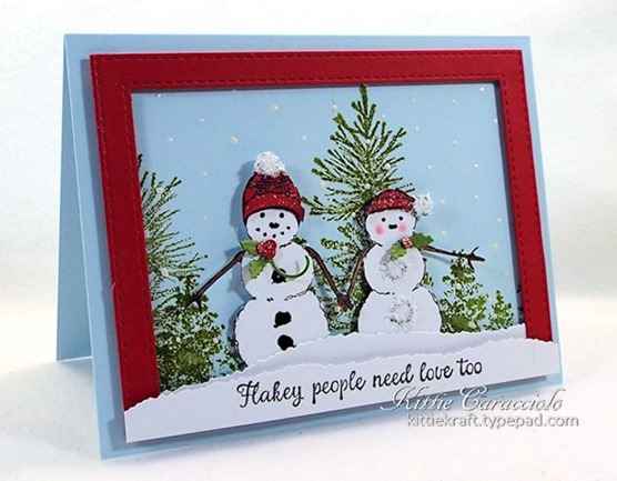 KC Impression Obsession Merry Snow Couple 1 right