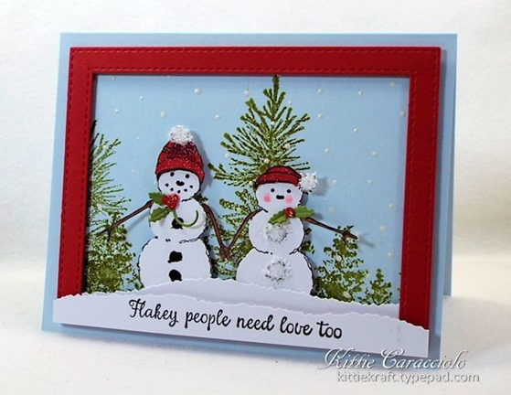 KC Impression Obsession Merry Snow Couple 1 left