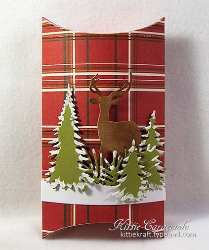 KC Lawn Fawn Pillow Box 1 Deer