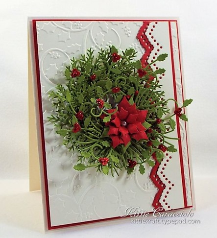KC Impression Obsession Small Poinsettia Set 2 left