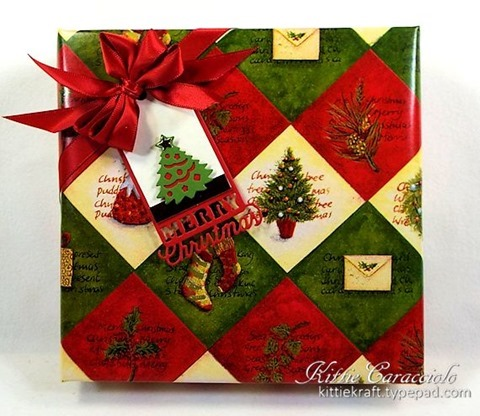 KC Impression Obsession Christmas Tags 3 box front
