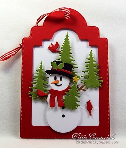 KC Elizabeth Craft Snowman 1 center