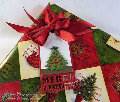 KC Impression Obsession Christmas Tags 3 box close