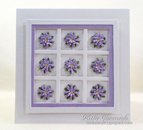 KC Elizabeth Craft Garden Patch 1 Inch Mini Daisy and Chrysanthemum 3 center