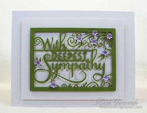 KC Impression Obsession Sympathy Word Block 1 center