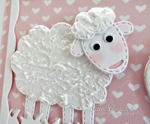 KC Impression Obsession Patchwork Sheep 1 close