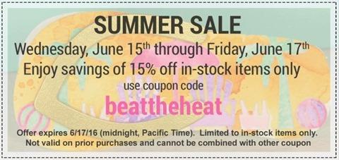 Ellen 15% Sale June