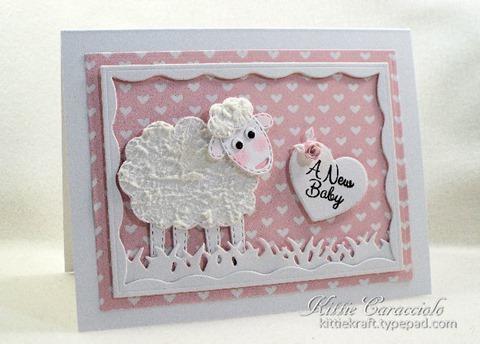 KC Impression Obsession Patchwork Sheep 1 left