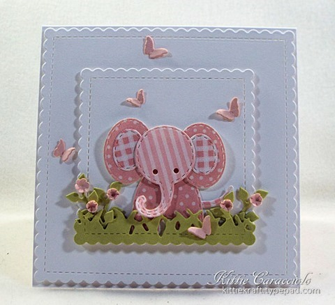 KC Impression Obsession Patchwork Elephant 1 center