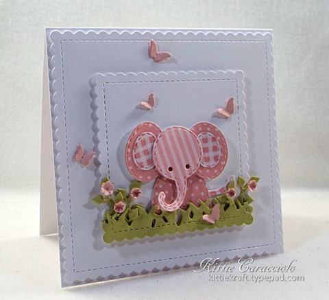 KC Impression Obsession Patchwork Elephant 1 left
